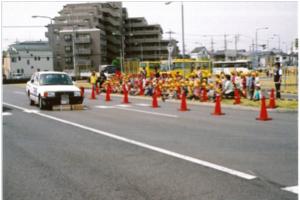 園児・小学生対象の交通安全教室3