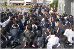 中・高校生対象の交通安全教室1